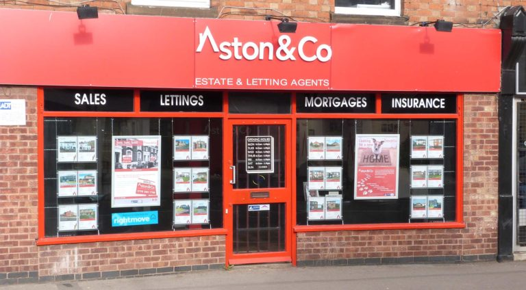 Syston office of Aston and Co Financial Services at 1242-1244 Melton Road Syston Leicester LE7 2HB